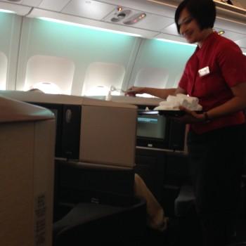 Cathay Pacific Trip Report Hong Kong (HKG) to Bangkok (BKK) A34012