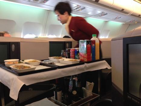 Cathay Pacific Trip Report Hong Kong (HKG) to Bangkok (BKK) A34025
