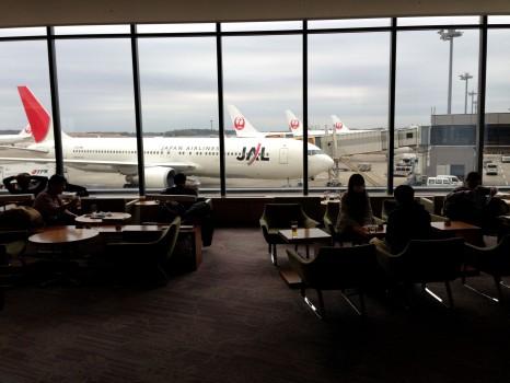 JAL Sakura Lounge Tokyo NRT50