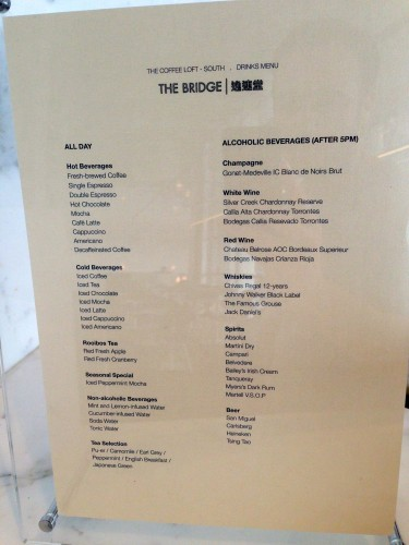 The Bridge Lounge Cathay Pacific HKG Hong Kong Trip Report31