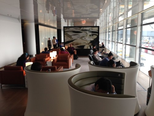 The Bridge Lounge Cathay Pacific HKG Hong Kong Trip Report38