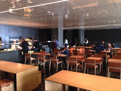 The Bridge Lounge Cathay Pacific HKG Hong Kong Trip Report41