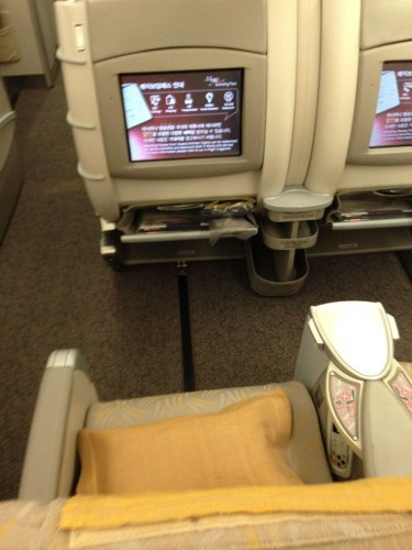 Asiana Airways Trip Report BKK-ICN A330 Bangkok Seoul08
