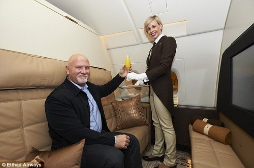 Etihad A380 Butler Service The Residence