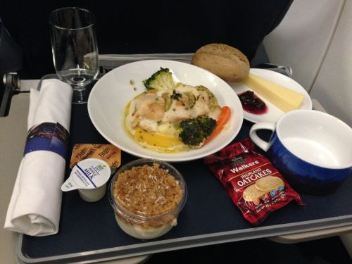 British Airways Club Europe (Business) LHR-NCE A319 07