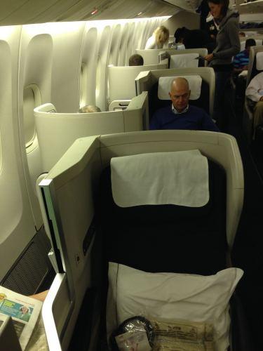 British Airways Flight Review 747-400 Club World04