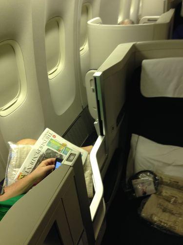 British Airways Flight Review 747-400 Club World05