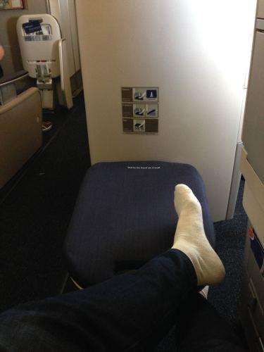 British Airways Flight Review 747-400 Club World25