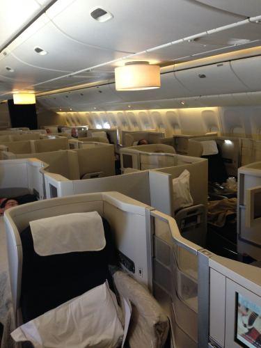 British Airways Flight Review 747-400 Club World27