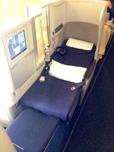 British Airways Flight Review 747-400 Club World36