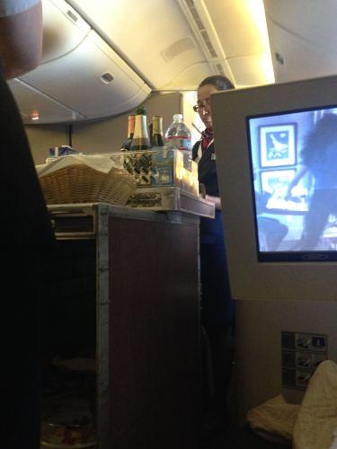 British Airways Flight Review 747-400 Club World45