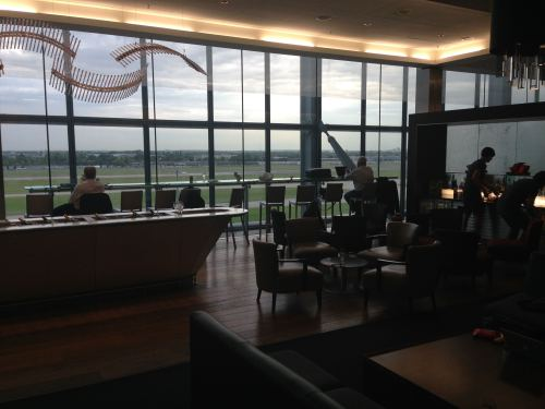British Airways Galleries Club Lounge LHR Terminal 5A21