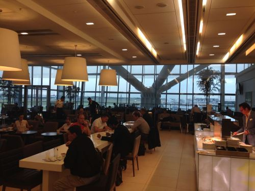 British Airways Galleries Club Lounge LHR Terminal 5A46
