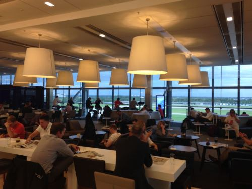 British Airways Galleries Club Lounge LHR Terminal 5A54