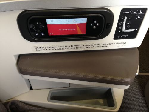 Iberia Flight Review A330-300 Business Class12