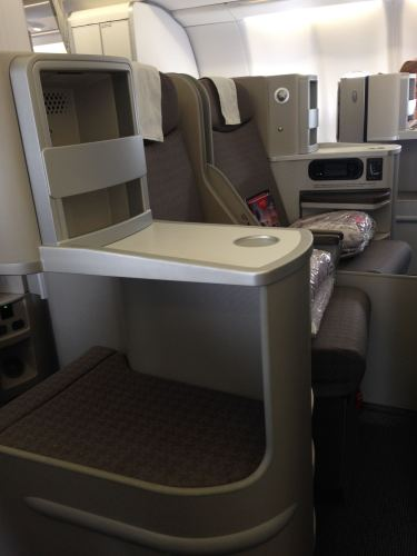 Iberia Flight Review A330-300 Business Class24