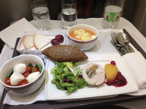 Iberia Flight Review A330-300 Business Class48