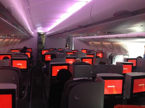 Iberia Flight Review A330-300 Business Class63