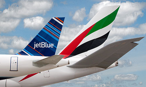 Emirates-and-JetBlue-Tails