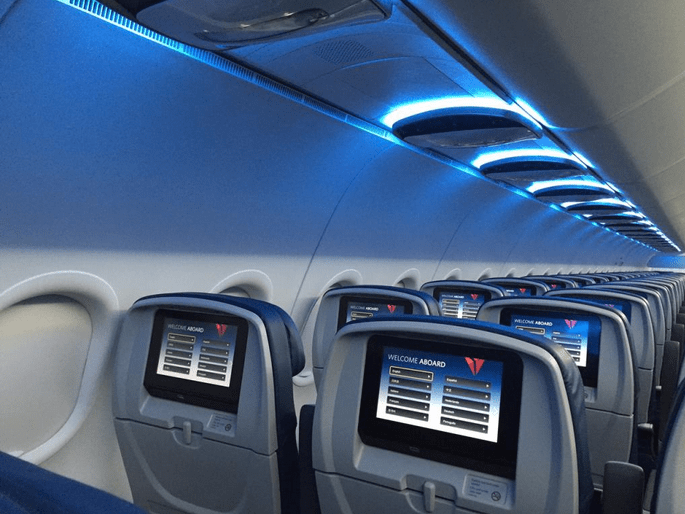 Delta Debuts Pics Of Updated A319 Interiors First