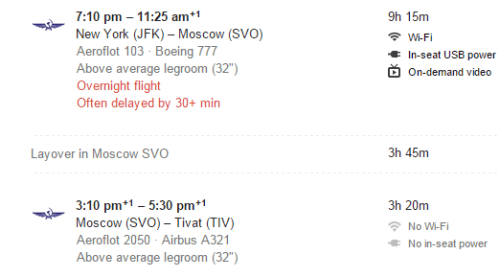 SVO Flights