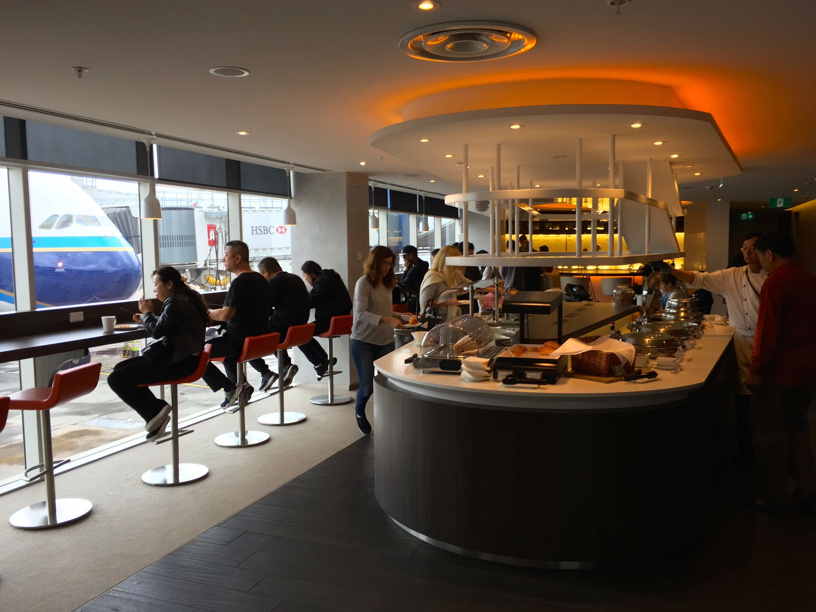 Trip Report Amp Review Skyteam Lounge Sydney Airport Syd