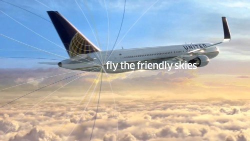 UnitedFlytheFriendlySkies