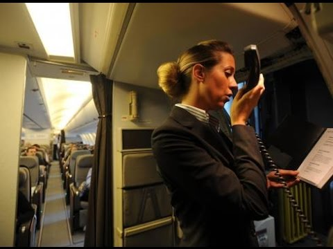flight-attendant-announcing