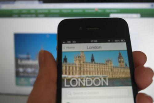 TripAdvisor App and Website by Amy Wardlaw