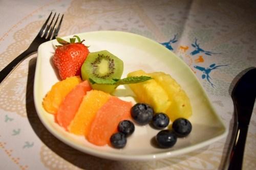 EVA Air Royal Laurel Class - Fruit Plate