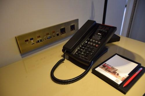 Grand Hyatt Taipei - Grand Suite Twin Phone and IT Panel