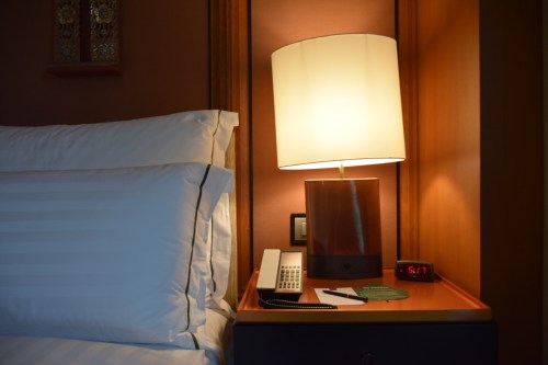 Conrad Bangkok Executive Corner King Room - Night Stand