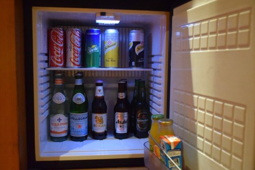 Conrad Bangkok Executive Corner King Room - Minibar