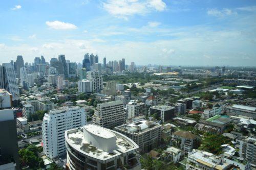 Conrad Bangkok Executive Twin Corner Room - View