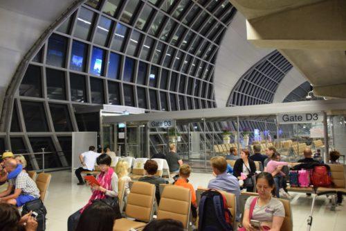 thai airways bangkok gate area