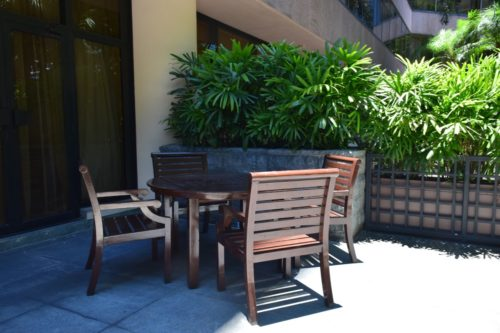 InterContinental Hong Kong Patio Room - Patio Furniture