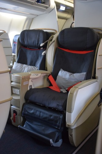 """Turkish Airlines """"Old"""" Business Class Seat"""