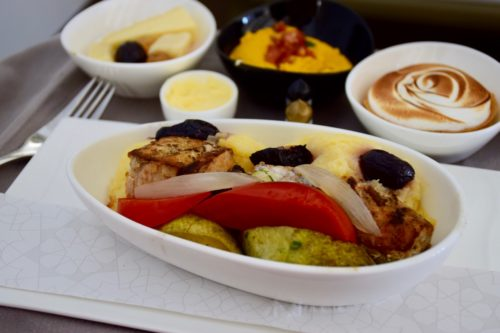 "Turkish Airlines ""Old"" Business Class - DO&CO Catering"