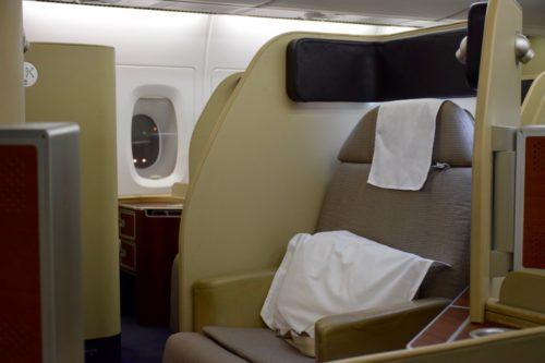 Qantas First Class A380 Seat