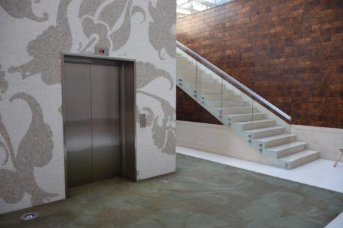 Park Hyatt Istanbul - Elevator to Pool