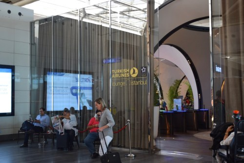 Turkish Airlines Lounge - Entrance