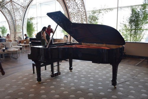 Turkish Airlines CIP Lounge - Piano