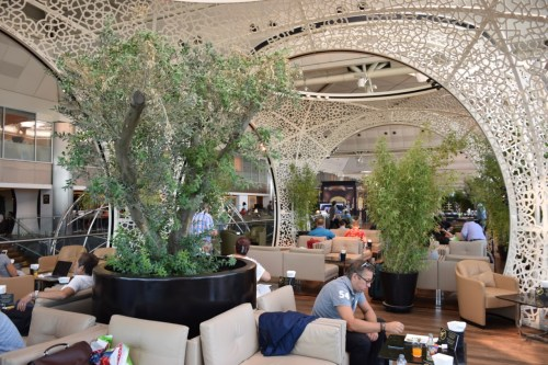 Turkish Airlines CIP Lounge - Seating