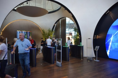 Turkish Airlines CIP Lounge Check-In