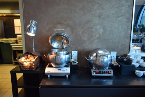 Turkish Airlines CIP Lounge - Soups
