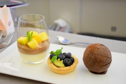 Turkish Airlines Business Class A330 - Dessert