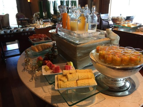 Breakfast Spread - Fruit and Juices