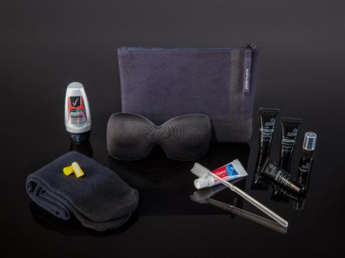 Qantas First Class Martin Grant Amenity Kit (Male Version)