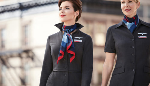 American Airlines New Uniform (2016)