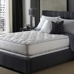 The Hilton Bed is made by Serta